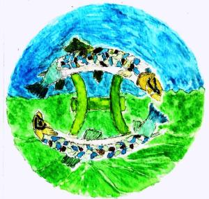 Pisces - Maria Watercolor